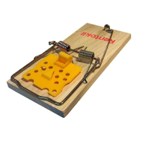RENTOKIL WOODEN RAT TRAP HEAVY DUTY