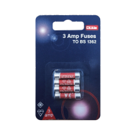 LYVIA 3A FUSES BS1362 4PK