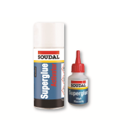 SOUDAL MITRE KIT, GLUE WITH ACTIVATOR