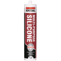SOUDAL MULTI PURPOSE SILICONE- WHITE
