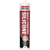 SOUDAL MULTI PURPOSE SILICONE- CLEAR