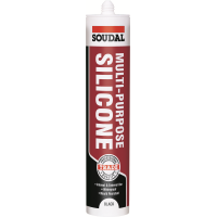 SOUDAL MULTI PURPOSE SILICONE- BLACK