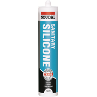SOUDAL PLUMBERS SANITARY SILICONE- WHITE