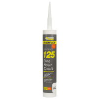 EVERBUILD 125 ONE HOUR CAULK C3- WHITE