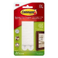3M COMMAND LARGE WHITE PICTURE STRIPS