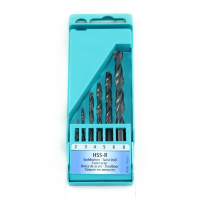 HELLER PRO 6PC HSS-R TWIST DRILL BIT SET