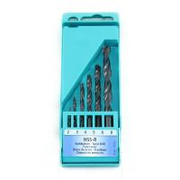 HELLER PRO 6PC HSS-R TWIST DRILL BIT SET