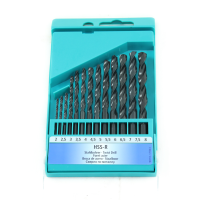 HELLER PROFESSIONAL 13PC HSS-R METAL DRILL BIT SET