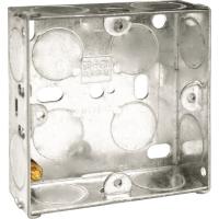 25MM 1 GANG METAL BACK BOX