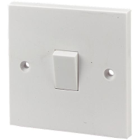 1 GANG 2 WAY 10AMP PLASTIC SWITCH