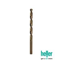 HELLER 10X 5MM HSS-CO COBALT METAL DRILL BITS