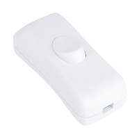 LYVIA 2AMP INLINE SWITCH WHITE DOUBLE-POLE