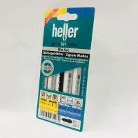 HELLER 5 MIXED JIGSAW BLADES WOOD (HCS-SZ) & METAL (HSS-WS)
