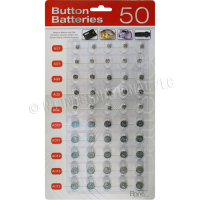 MARKSMAN 40PC BUTTON BATTERIES