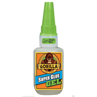 GORILLA SUPER GLUE 15G BOTTLE (GEL)