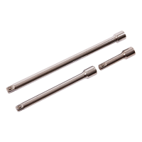 "AMTECH 3PC 3/8"" DRIVE EXTENSION BAR SET"