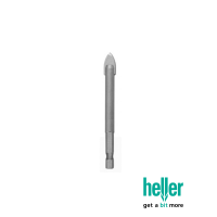 HELLER 6MM PRO TILE & GLASS DRILL BIT
