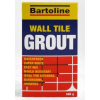 BARTOLINE 500G WHITE WALL & TILE GROUT