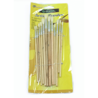 MARKUP 12PC SMALL ARTIST PAINT BRUSHES