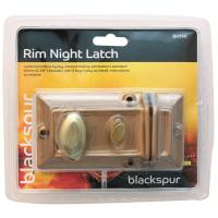 BLACKSPUR RIM NIGHT LATCH