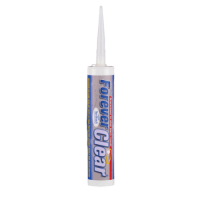 EVERBUILD FOREVER CLEAR SILICONE SEALANT C3