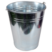 KINGFISHER 9L GALVANISED BUCKET