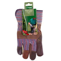 KINGFISHER MEN'S HEAVY DUTY LEATHER PALM RIGGER GLOVES-12PK