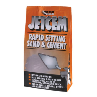 EVERBUILD JETCEM RAPID PREMIX 2KG SAND & CEMENT