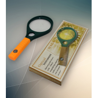 MARKUP 90MM HAND MAGNIFYING GLASS WITH COMPASS