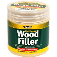 EVERBUILD M/PURPOSE WOOD FILLER 250ML- L. STAINABLE