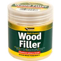 EVERBUILD M/PURPOSE WOOD FILLER 250ML- WHITE