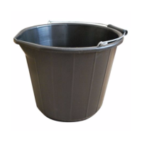 MARKUP 3 GALLON (14L) BLACK BUILDERS BUCKET