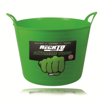 RECKTO  H/DUTY 42L FLEXIBLE TUB (GREEN)