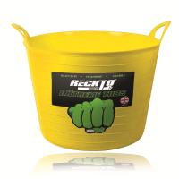 RECKTO H/DUTY 75L FLEXIBLE TUB (YELLOW)