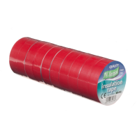 ULTRATAPE RED 20M PVC TAPE (10RLS)