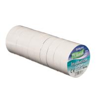 ULTRATAPE WHITE 20M PVC TAPE (10RLS)
