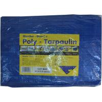 WEATHER GUARD 3.6 X 5.4M WHITE POLY TARPAULIN (12 X18')