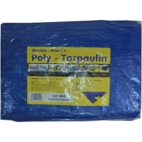 WEATHER GUARD 2.75 X 1.8M BLUE POLY TARPAULIN (6 X 9')