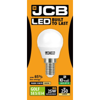 JCB GOLF LED 3w (25w) 250lm WARM WHITE E14- 3000K (W)