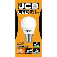 JCB GOLF LED 6w (40w) 520lm DAYLIGHT B22- 6500K (W)