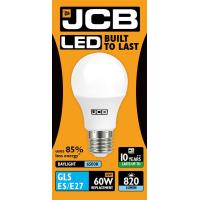 JCB GLS LED 10w (60w) 820lm DAYLIGHT E27- 6500K (W)