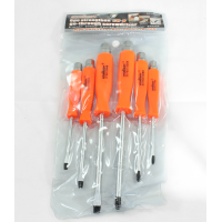 MARKUP 6PC GO-THRU SCREWDRIVER SET