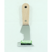 RECKTO 5 IN 1 WOODEN HANDLE SCRAPER