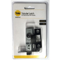 YALE ESSENTIALS 64MM TUBULAR LATCH- CHROME