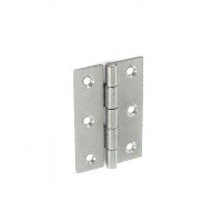 SECURIT 2PC 65MM STEEL BUTT HINGES