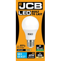 JCB GLS LED 10w (60w) 806lm WARM WHITE E27- 3000K (W)