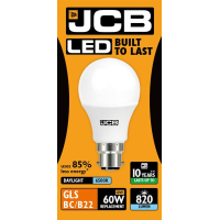 JCB GLS LED 10w (60w) 820lm DAYLIGHT B22- 6500K (W)