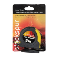 BLACKSPUR 5M X 19MM TAPE MEASURE WITH PROTECTIVE COVER