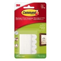 3M COMMAND 4pc SMALL PICTURE STRIPS