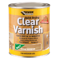 EVERBUILD CLEAR VARNISH GLOSS- 250ML